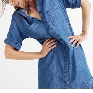 Madewell Denim Shirt Dress